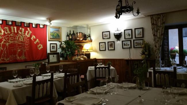 Sepúlveda. Restaurante Asador El Panadero
